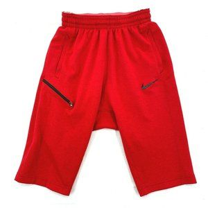 Nike Shorts Dri-fit Red 891734 Pockets Athletic